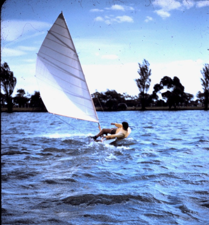 Bruce on Little Osprey 1958 Albert Prk 2